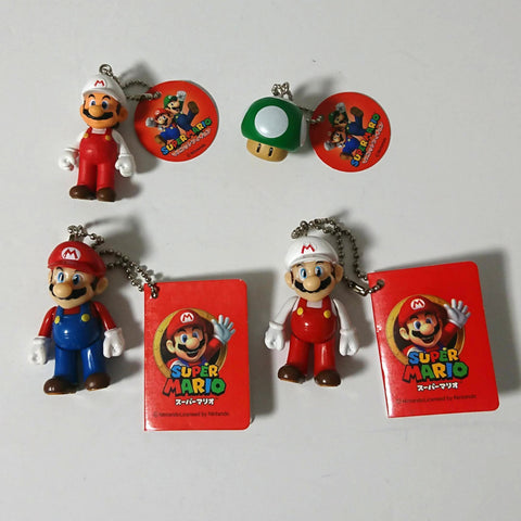 zz-- Super Mario - 4 Mini Figures LOT --zz