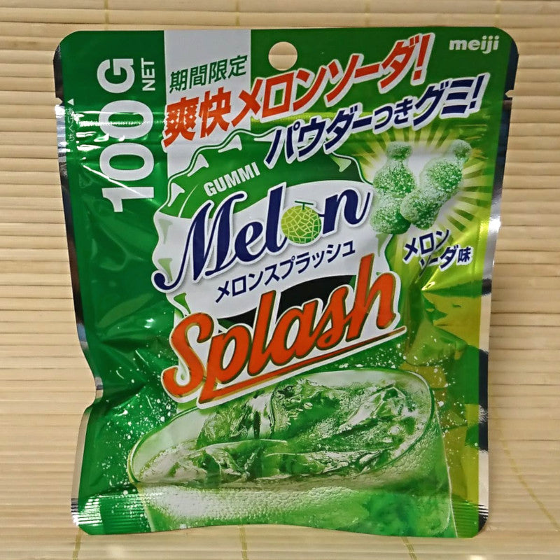 Meiji Gummy Candy - Melon Splash (100 gram)