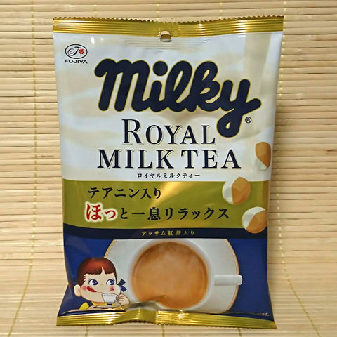 Milky Peko Chan Hard Candy - Royal Milk Tea