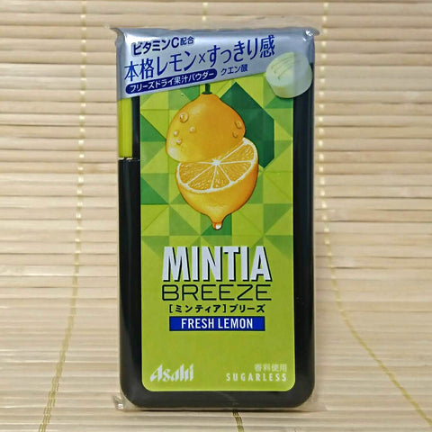 Mintia BREEZE - Fresh Lemon Sugarless Large Mints