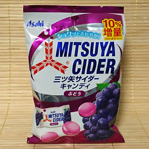 Mitsuya Cider Soda Hard Candy - Grape