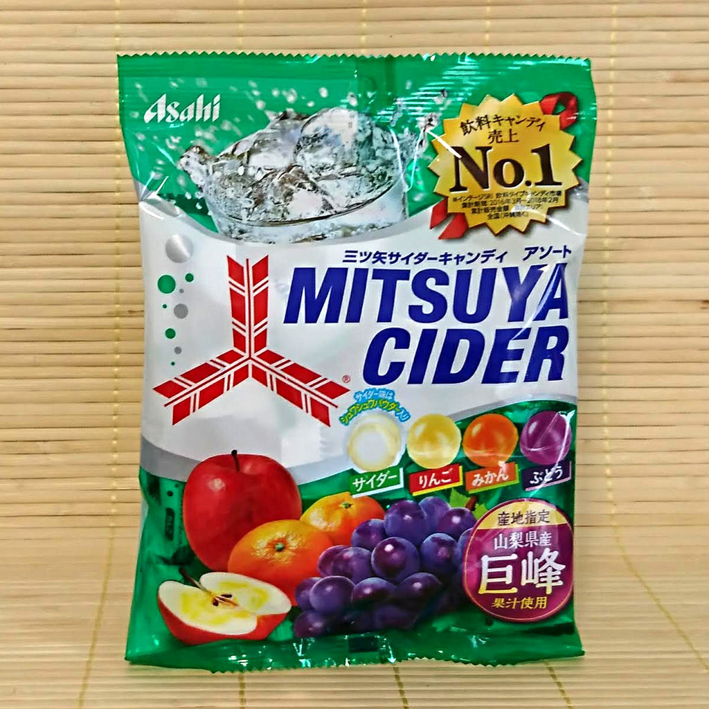 Mitsuya Cider Soda Hard Candy - 4 Flavor (w/ Kyoho Grape)