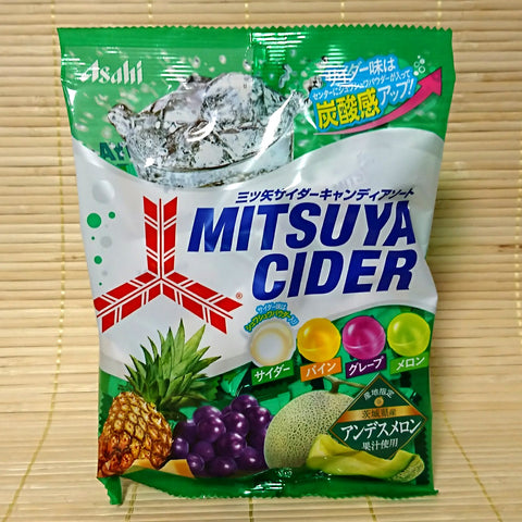 Mitsuya Cider Soda Hard Candy - 4 Flavor (w/ Pineapple)