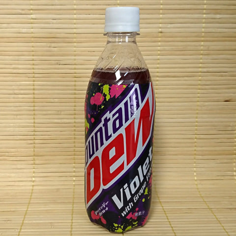 Mountain Dew Soda - Violet Grape Bottle