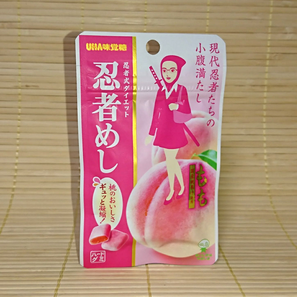 Ninja Meshi Hard Gummy Candy - Peach