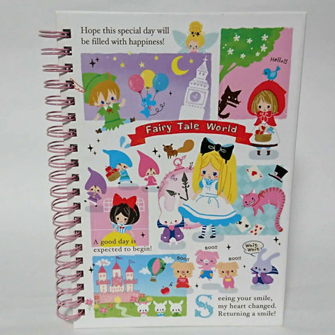 zz-- Hard Cover Notebook - Fairy Tale World --zz