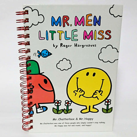 zz-- Hard Cover Notebook - Mr. Men Little Miss --zz