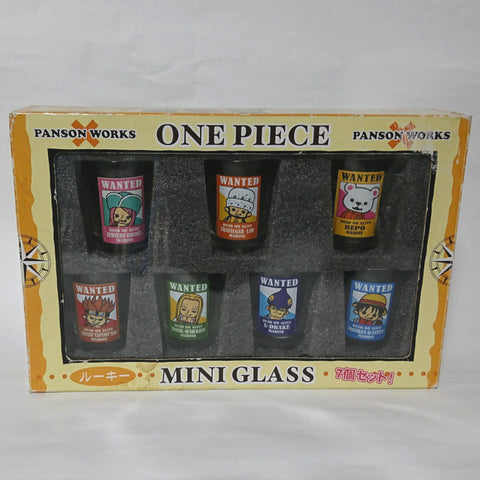 zz-- One Piece - Shot Glass (Set of 7) B --zz