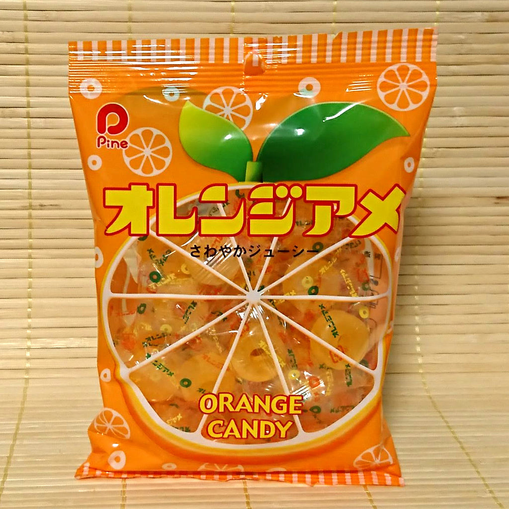 Orange Ame Hard Candy - Rings