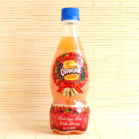 Orangina Soda - Holiday Mix with Berry