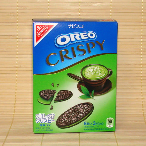 Oreo Crispy Cookies - Green Tea Latte Chocolate