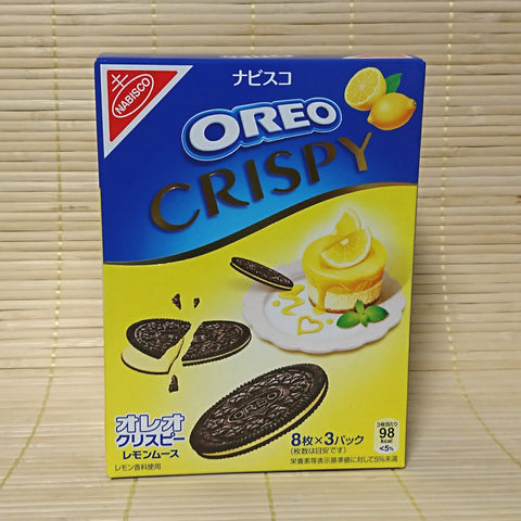 Oreo Crispy Cookies - Lemon Mousse Chocolate