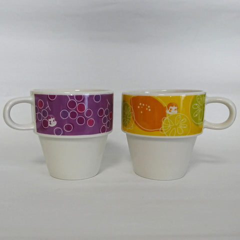 zz-- Peko Chan Stacking Mugs (2) --zz