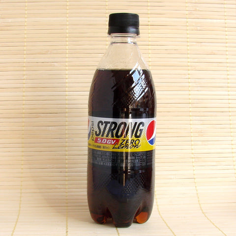 Pepsi Cola - Zero LEMON Strong 5.0 GV