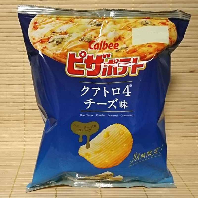 Calbee Pizza Potato Chips - Rich FOUR Cheese