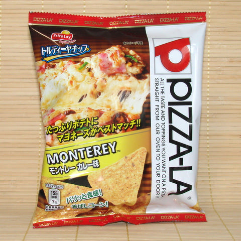 Frito Lay Tortilla Chips - Monterey Curry (Pizza-La)