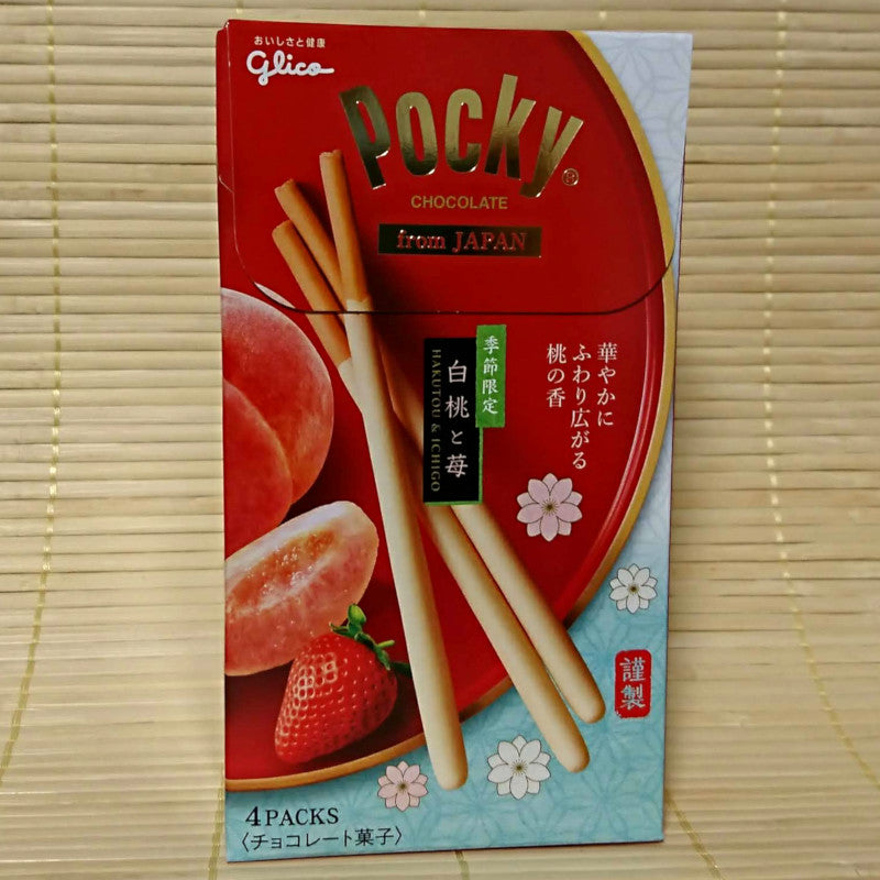 Pocky Deluxe - Peach and Strawberry