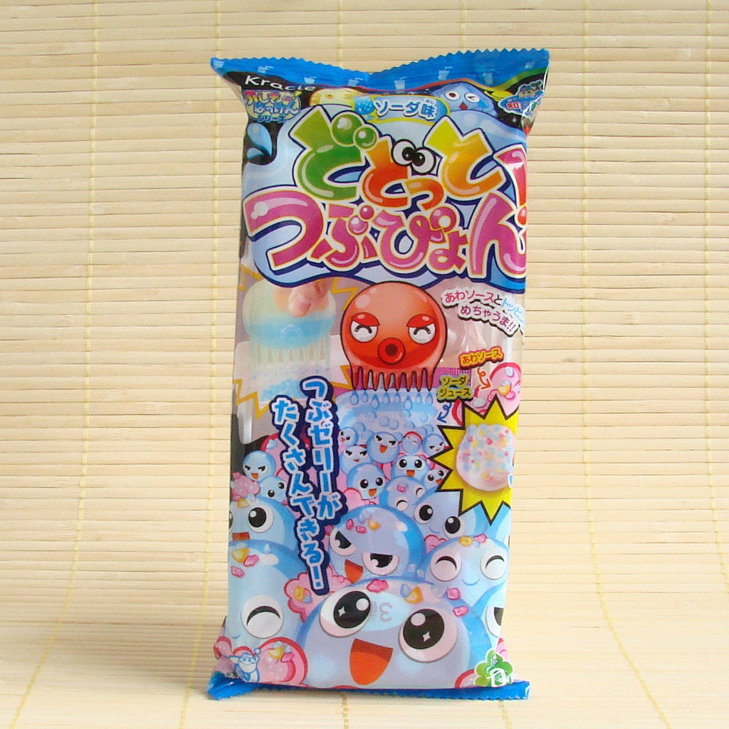 Dodotto Tsubupyon Octopus Gummy Kit - Soda