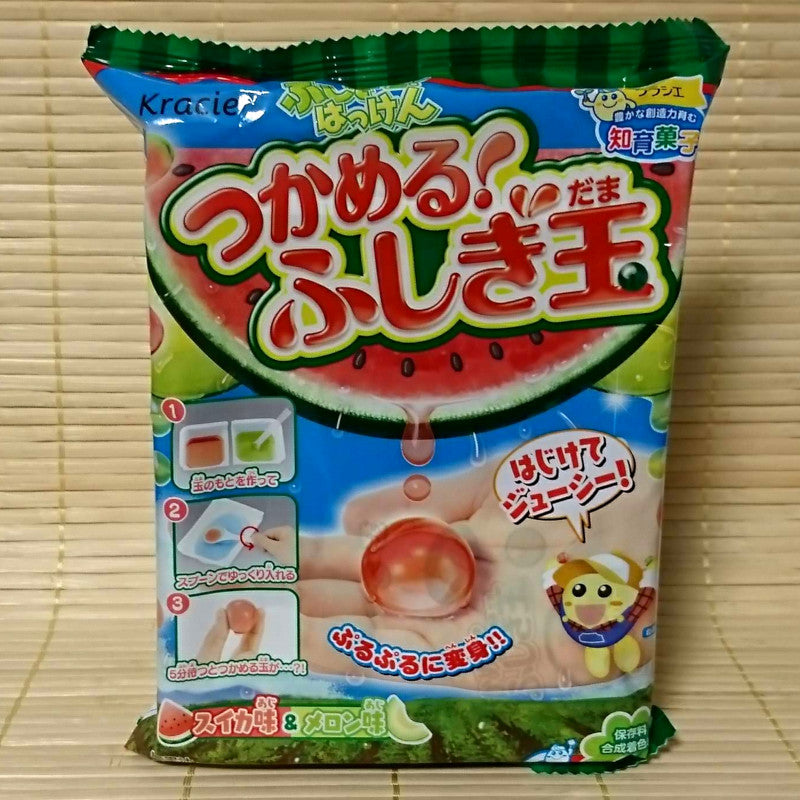 Kracie Watermelon Fushigi Dama BALL Candy Kit
