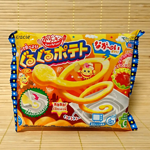 Popin' Cookin' Guru Guru Potato Candy Kit