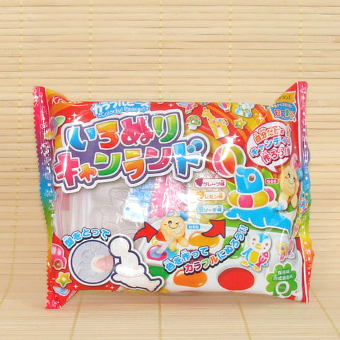 Popin' Cookin' IRONURI Colorful Peace Candy Land Kit