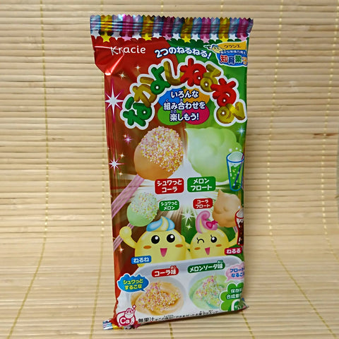 Nakayoshi Neru Neru - Cola & Melon Soda Candy Kit