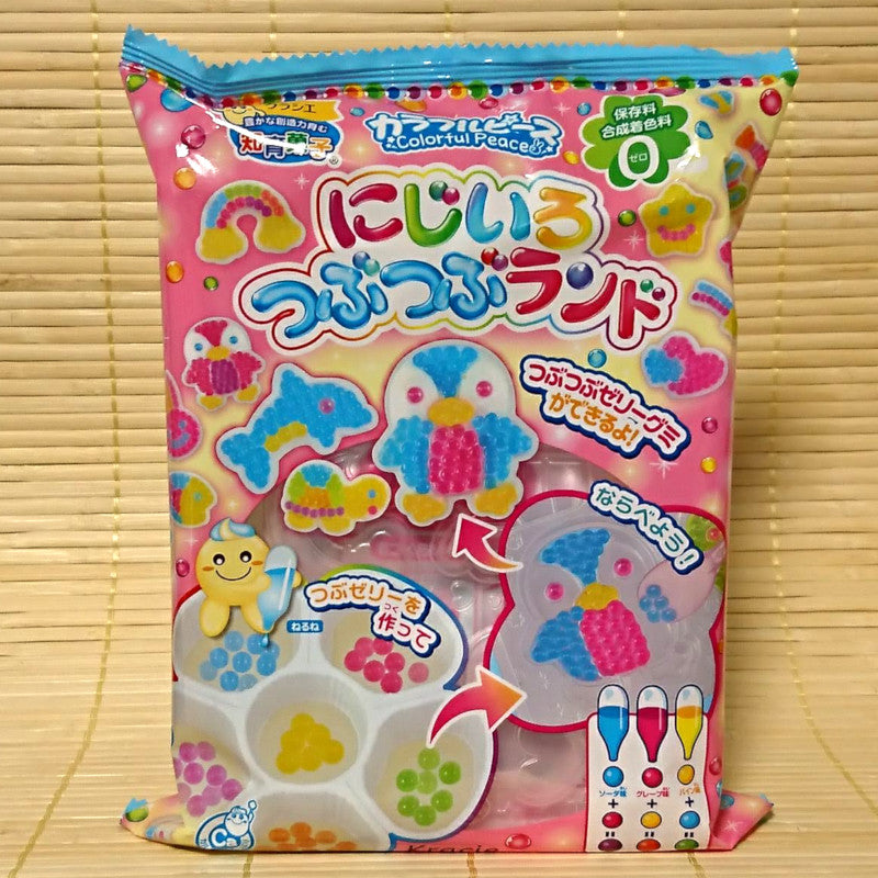 Popin' Cookin' Rainbow Tsubu Tsubu Land Candy Kit