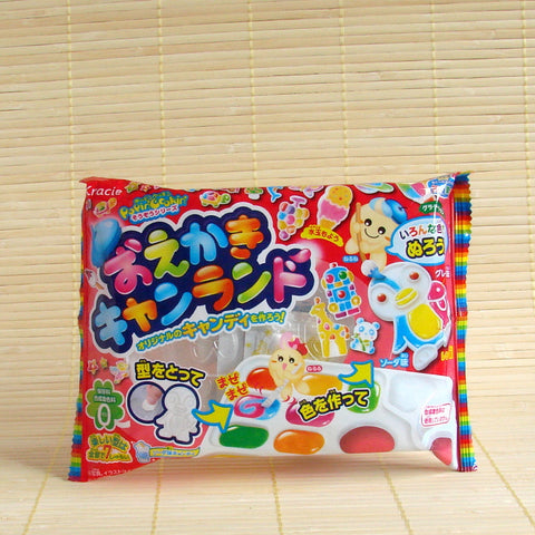 Popin' Cookin' Oekaki ANIMAL Candy Land Kit