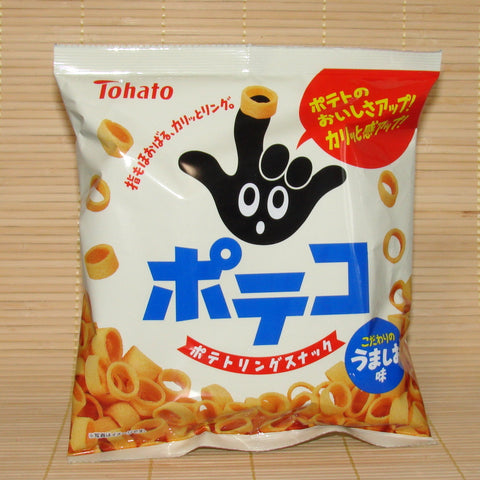Tohato Poteko Potato Rings - Original Salt