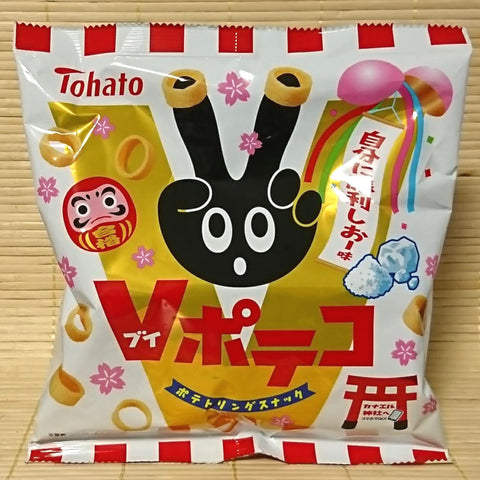 Tohato Poteko Potato Rings - Coarse Salt
