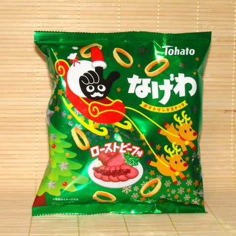 Tohato Poteko Potato Rings - Roast Beef