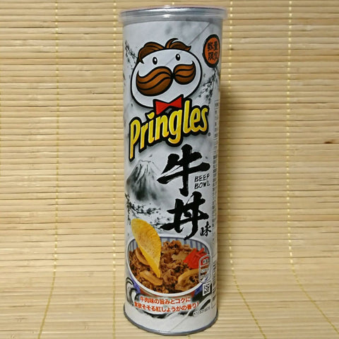 Pringles - Beef Bowl (Tall Can)