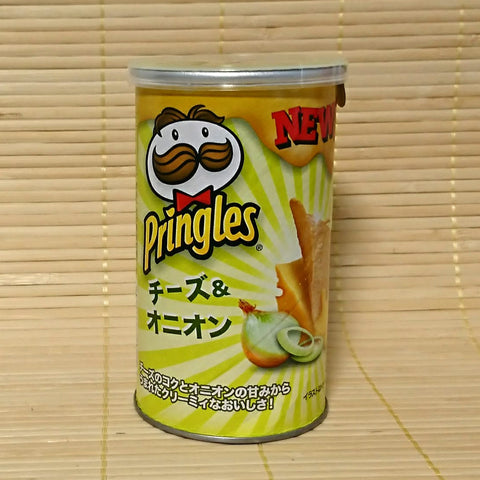 Pringles - Cheese Onion STOUT CAN