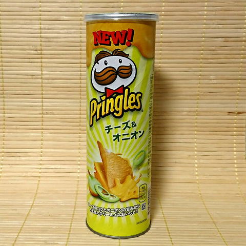 Pringles - Cheese Onion TALL Can