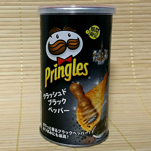 Pringles - Crushed Black Pepper (Short Can)