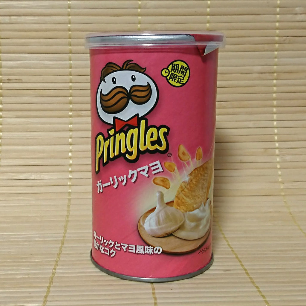 Sold Out Pringles Garlic Mayonnaise Stout Can