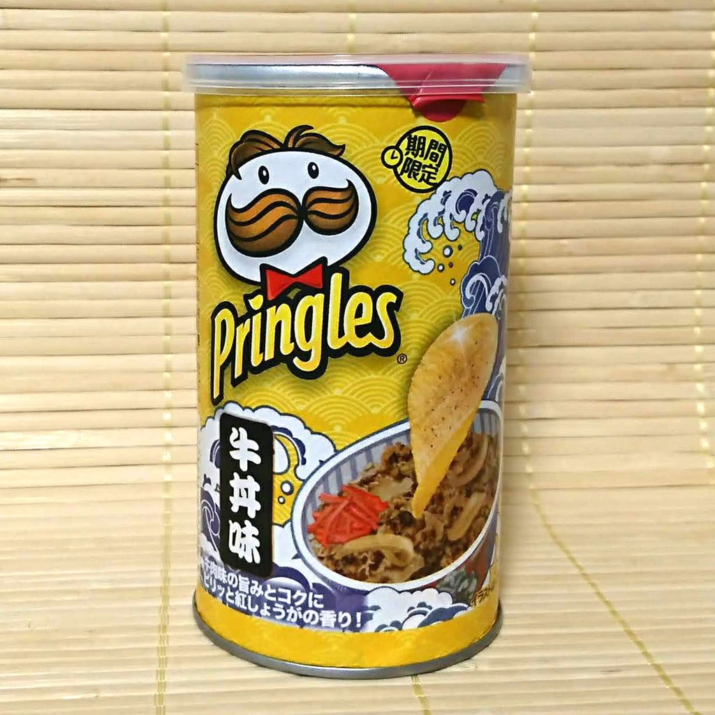 Pringles - Gyudon Beef Bowl (Stout Can)