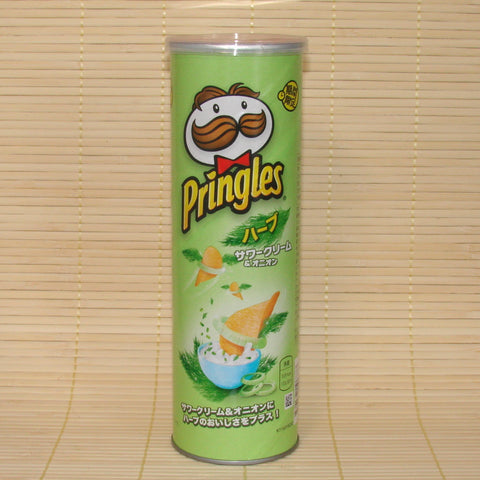 Pringles - Herb Sour Cream & Onion