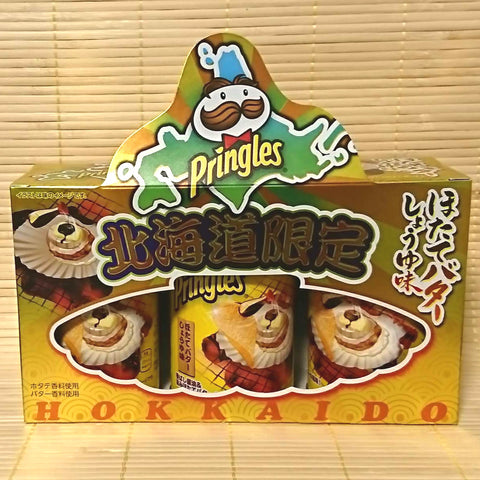 Pringles - Hokkaido Scallop Butter Soy Sauce (3 CAN SET)