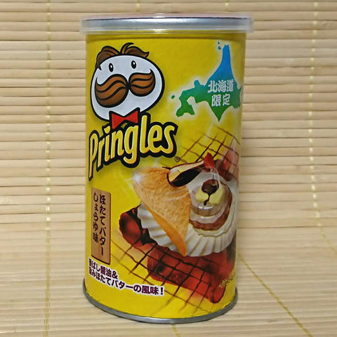 Pringles - Hokkaido Scallop Butter Soy Sauce (Stout Can)