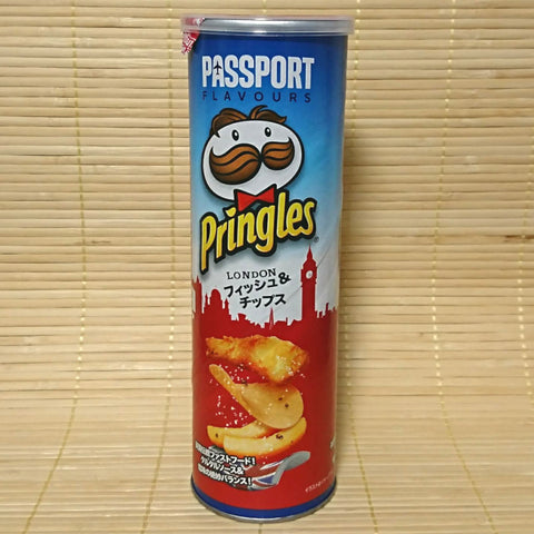 Pringles - London Fish and Chips (Tall Can)
