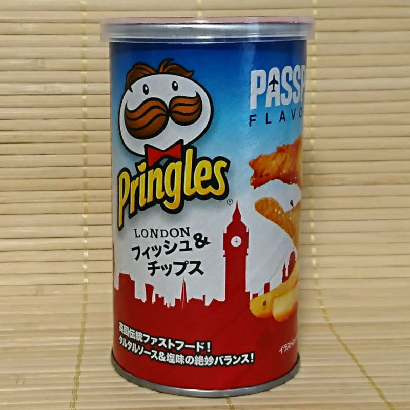 Pringles - London Fish and Chips (Short Can)