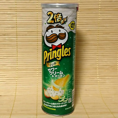 Pringles - DOUBLE Sour Cream & Onion (TALL Can)