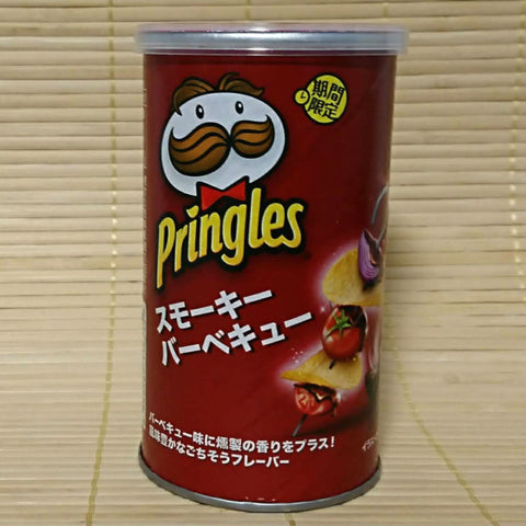 Pringles - Smoky BBQ (Short Can)
