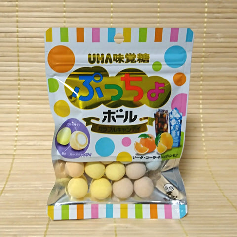 Puccho BALL Candy - Colorful Soda Mix