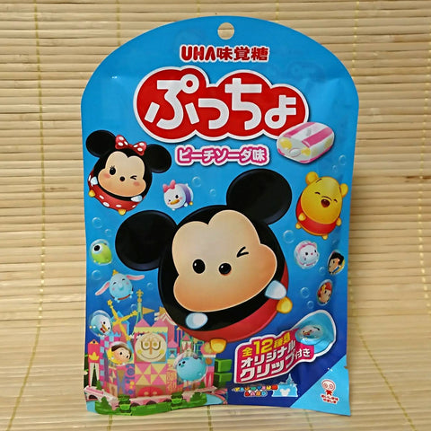 Puccho Soft Candy Chews - DISNEY Peach Soda