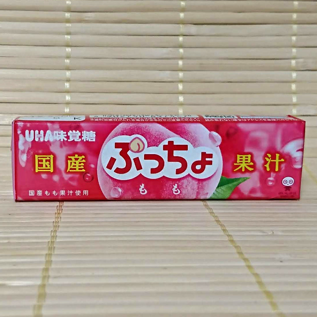 Puccho Soft Candy Chews - Juicy Domestic Peach
