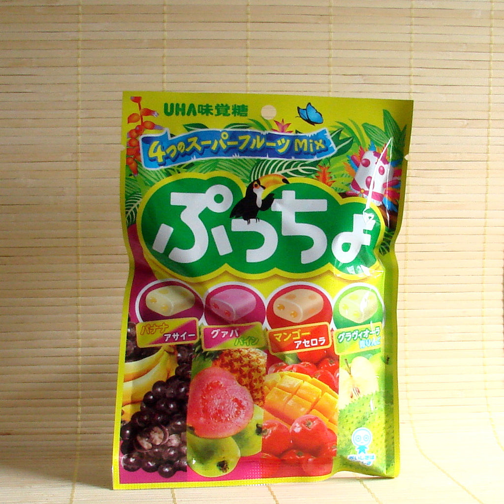 Puccho Soft Candy Chews - Super Fruits Mix Bag
