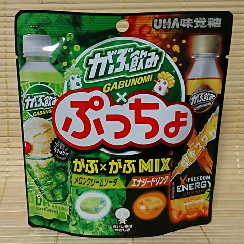 Puccho Soft Candy Chews - Gabunomi Soda Mix