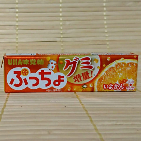 Puccho Soft Candy Chews - Iyokan Orange